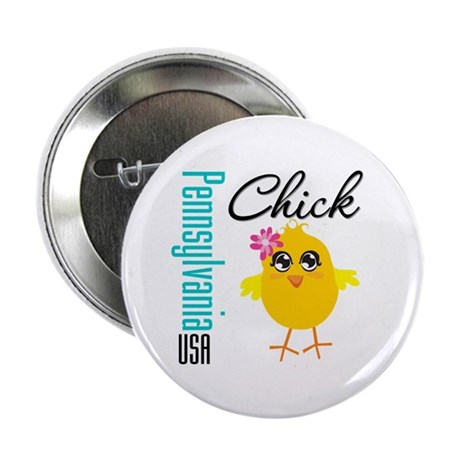 """Pennsylvania Chick 2.25"""" Button (10 pack)"""