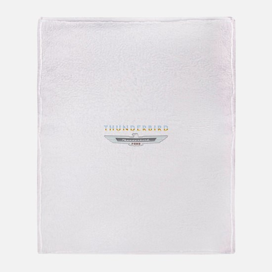 Cute Thunderbird Throw Blanket