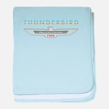 Cute Thunderbird baby blanket