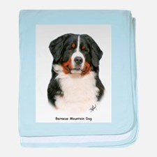 Bernese Mountain Dog 9Y348D-0 baby blanket
