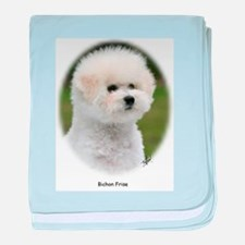 Bichon Frise 9Y362D-058 baby blanket