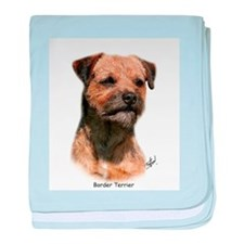 Border Terrier 9Y325D-046 baby blanket