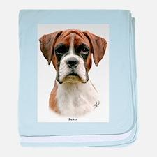 Boxer puppy 9Y049D-044 baby blanket