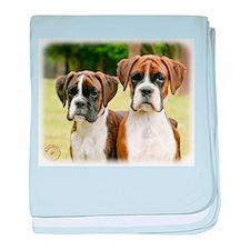 Boxer puppies 9Y049D-064 baby blanket