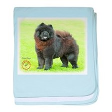 Chow Chow 9B008D-25 baby blanket