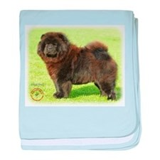Chow Chow 9B011D-08 baby blanket