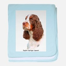 English Springer Spaniel 8M15 baby blanket