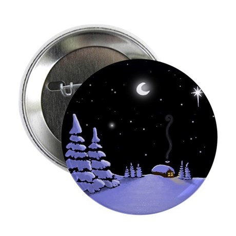 """Log Cabin 2.25"""" Button (100 pack)"""