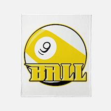 9 Ball Throw Blanket