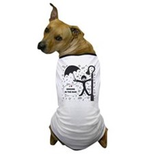 'Singing in the Rain' Dog T-Shirt