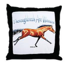 Winners Throw Pillow