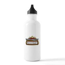 World's Greatest Secretary Water Bottle