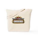 World's Greatest Seamstress Tote Bag