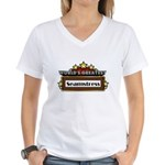 World's Greatest Seamstress Women's V-Neck T-Shirt