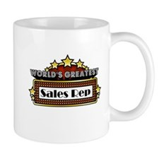 World's Greatest Sales Rep Small Small Mug