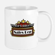 World's Greatest Sales Rep Small Small Mug