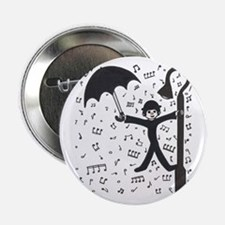 """'Singing in the Rain' 2.25"""" Button"""