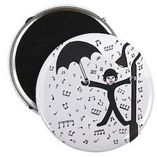 'Singing in the Rain' Magnet