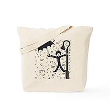 'Singing in the Rain' Tote Bag