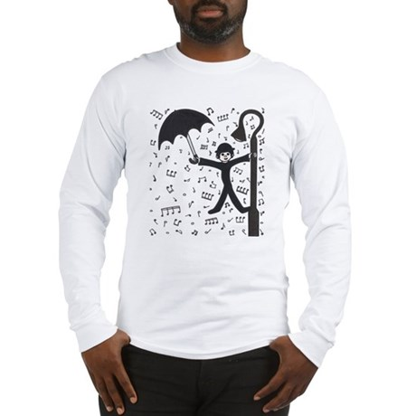 'Singing in the Rain' Long Sleeve T-Shirt