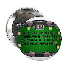 """Legalize Online Poker! 2.25"""" Button"""