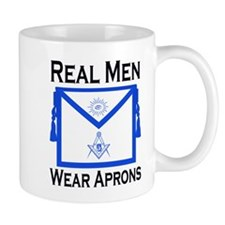 Real Men Wear Aprons Coffee Mug