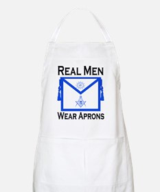 Real Men Wear Aprons Apron