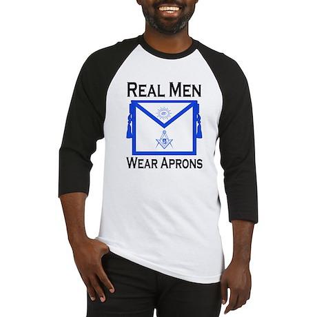 Real Men Wear Aprons Baseball Jersey