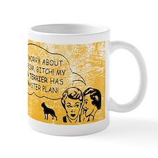 Boston Terrier - War on Terror Mug