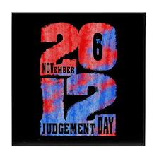 Judgement Day Tile Coaster