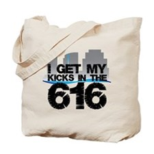 Kicks in the 616 Tote Bag