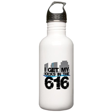 Kicks in the 616 Stainless Water Bottle 1.0L