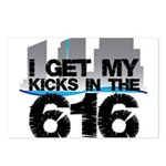 Kicks in the 616 Postcards (Package of 8)