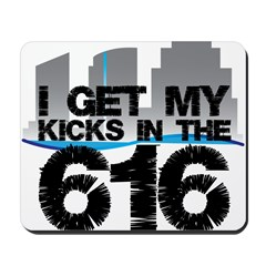 Kicks in the 616 Mousepad