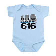 Kicks in the 616 Infant Bodysuit