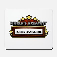 World's Greatest Sales Assist Mousepad