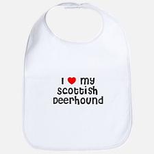 I * my Scottish Deerhound Bib
