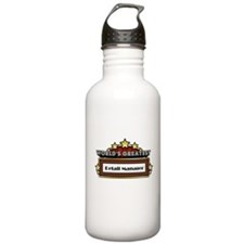 World's Greatest Retail Manag Water Bottle