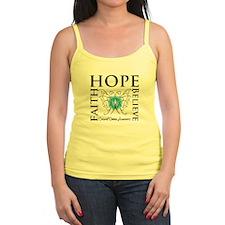 Hope Faith Cervical Cancer Jr.Spaghetti Strap