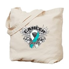 Survivor - Cervical Cancer Tote Bag