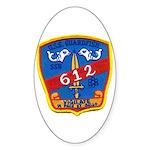 USS GUARDFISH Sticker (Oval)