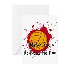 No Blood No Foul Greeting Cards (Pk of 10)