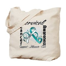 Cervical Cancer Awareness Tote Bag