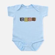 Maya Alphabet Block Infant Bodysuit