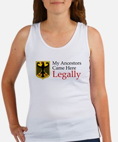 German Ancestors Women's Tank Top