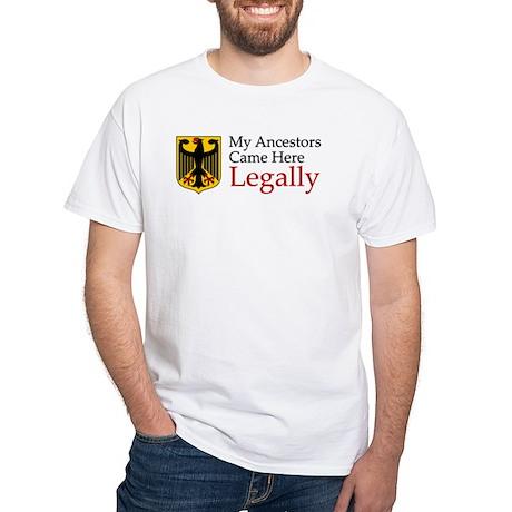 German Ancestors White T-Shirt
