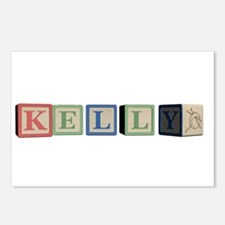 Kelly Alphabet Block Postcards (Package of 8)