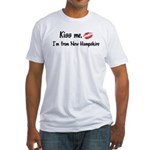 Kiss Me: New Hampshire Fitted T-Shirt