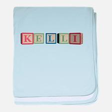 Kelli Alphabet Block baby blanket