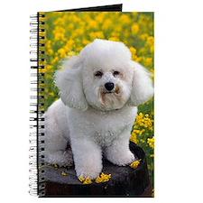 BICHON YELLOW FLOWER FIELD Journal